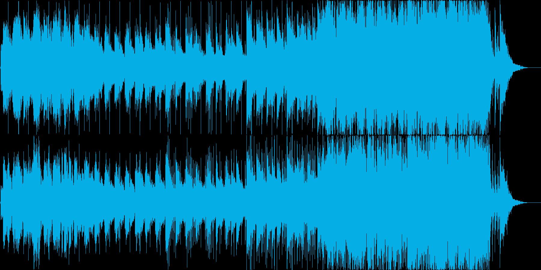 美しく切ない和をイメージした感動バラードの再生済みの波形
