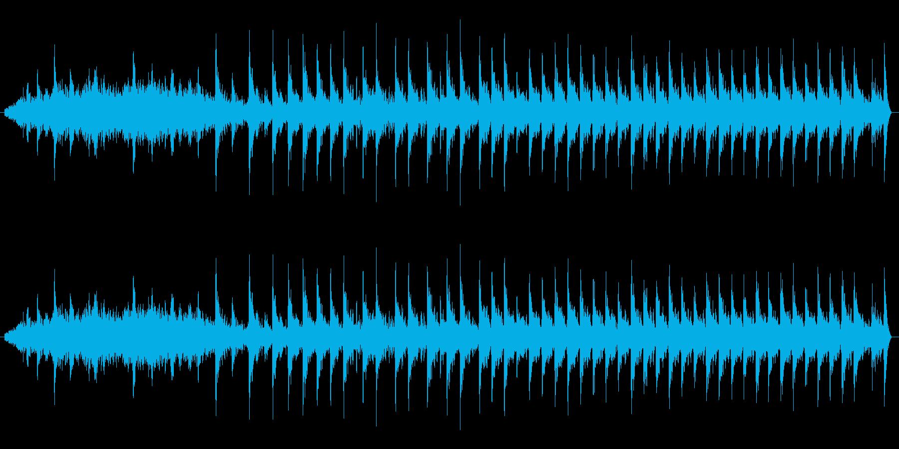 【生音】ギュルルドドド。原付エンジン音の再生済みの波形