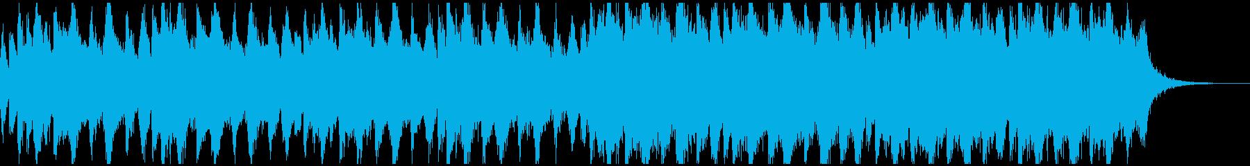 ハロウィン、ホラー、ダーク系メロディーの再生済みの波形