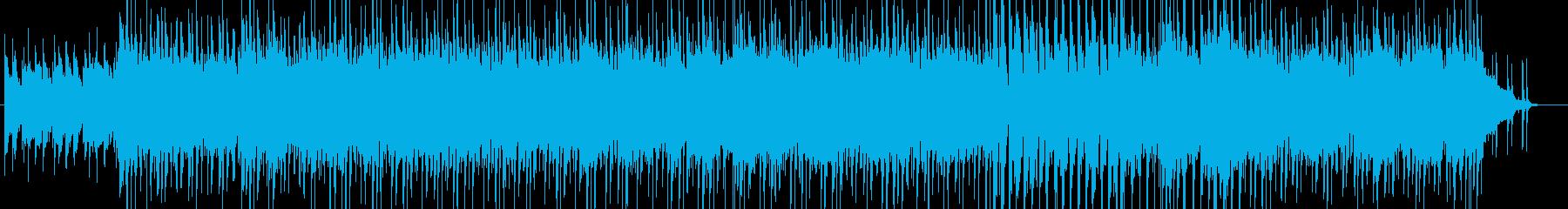 元気 ロック キッズ ピアニカBGMの再生済みの波形