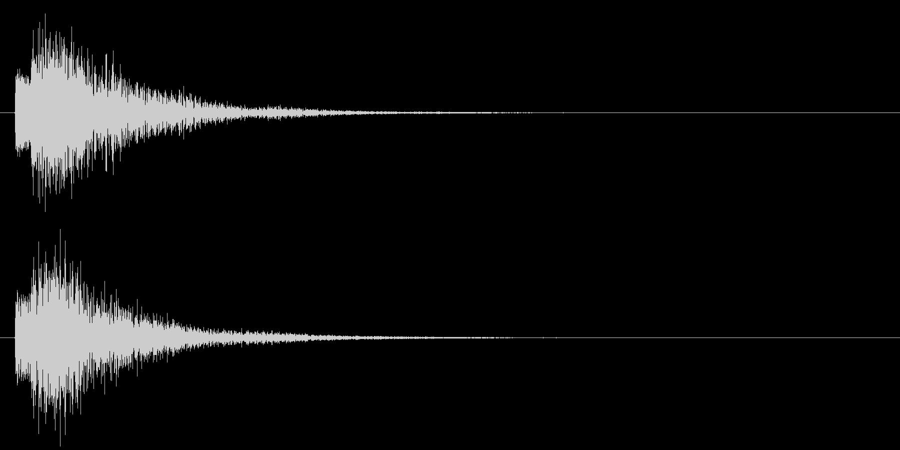 ポロン⑤(システム・起動・エラー・決定)の未再生の波形