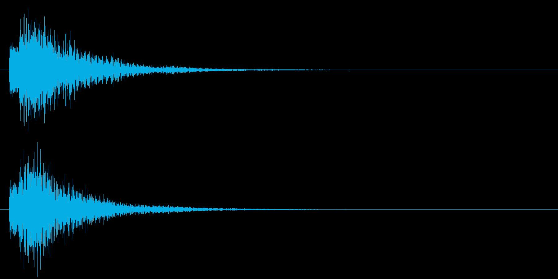 ポロン⑤(システム・起動・エラー・決定)の再生済みの波形