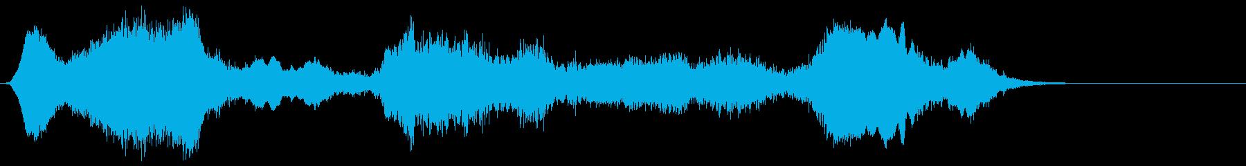 ドライアイス;不気味なトーキングメタル。の再生済みの波形