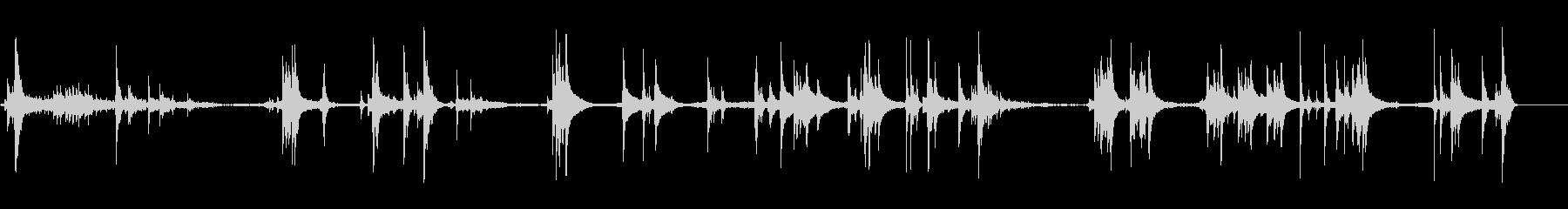 ピンボールマシン;フリッパーの有無...の未再生の波形