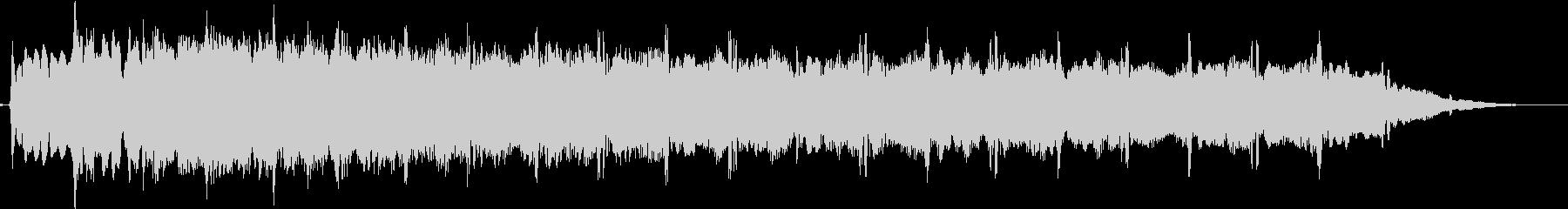 ピューン:異次元へワープする音3の未再生の波形