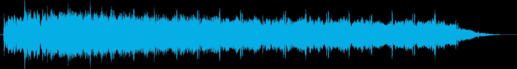 ピューン:異次元へワープする音3の再生済みの波形