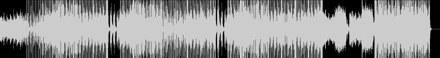 クールなユーロ感アーバンビートの未再生の波形