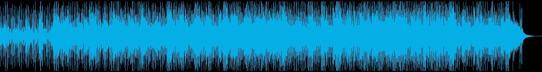 キラキラでエモかわいいエレクトロニカの再生済みの波形