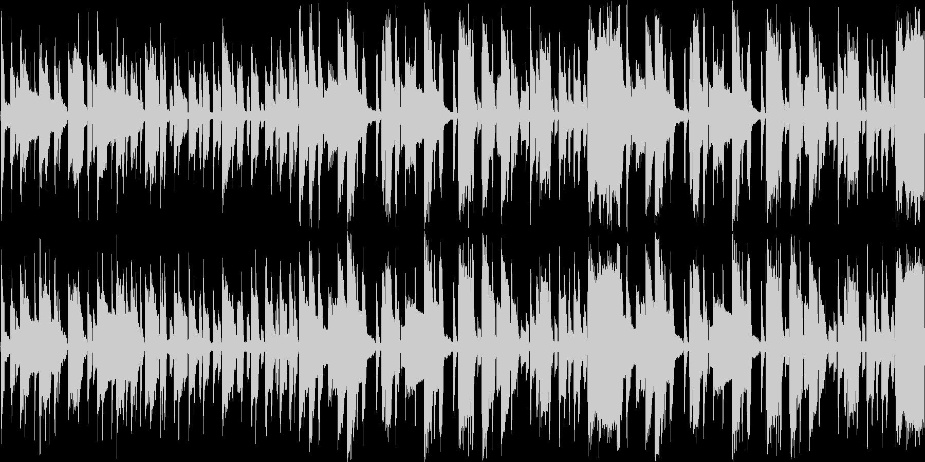 【軽快なEDM/シンセ/ポップス】の未再生の波形