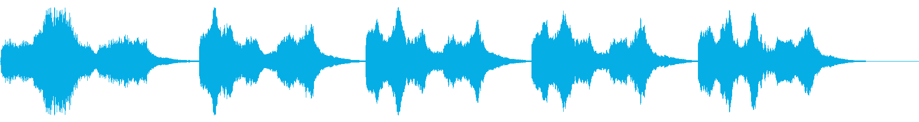 電気の動きのビデオゲームの活気に満...の再生済みの波形