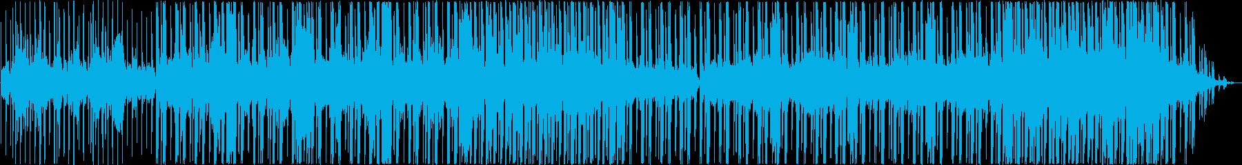 軽やかなテンポのギターミュージックの再生済みの波形