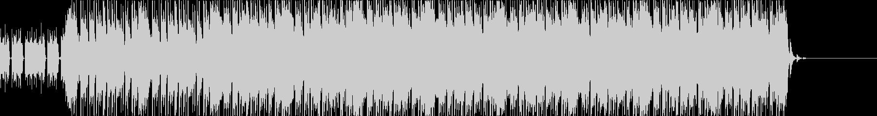 ベースとシンセが印象的なリフの未再生の波形