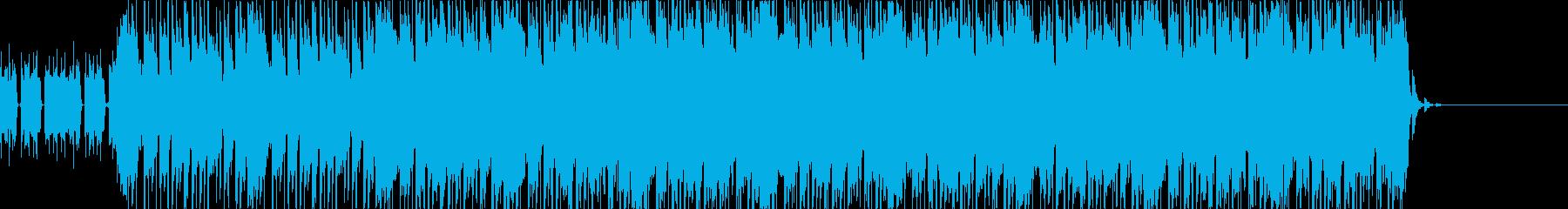 ベースとシンセが印象的なリフの再生済みの波形