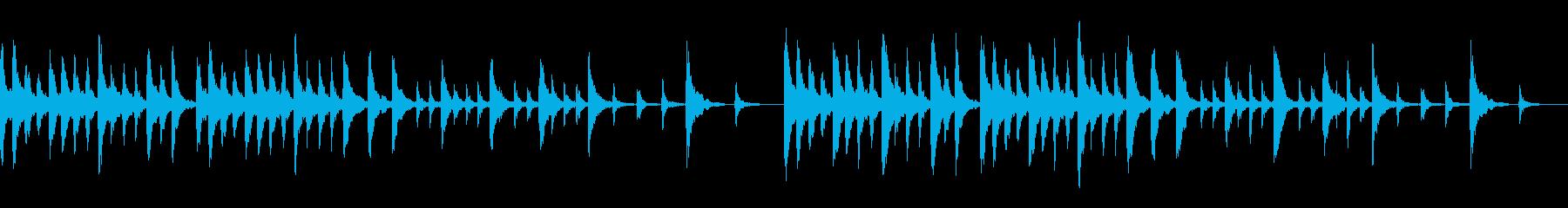 ファンタジー系(ループ仕様)の再生済みの波形