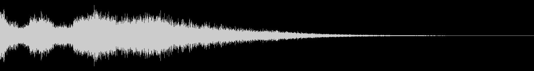 【ダーク】 テレパシーの未再生の波形