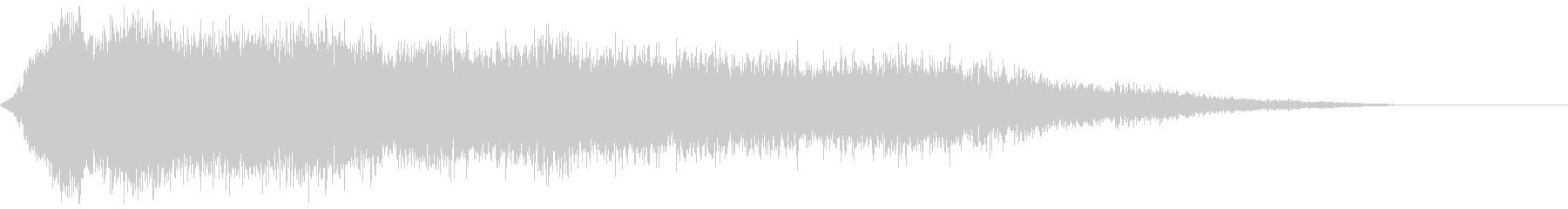 【アンビエント】ドローン_50 実験音の未再生の波形