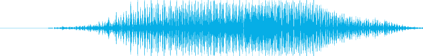 はい!の再生済みの波形