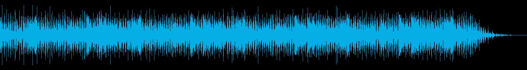人間味のある生演奏風ブルースバンドの再生済みの波形