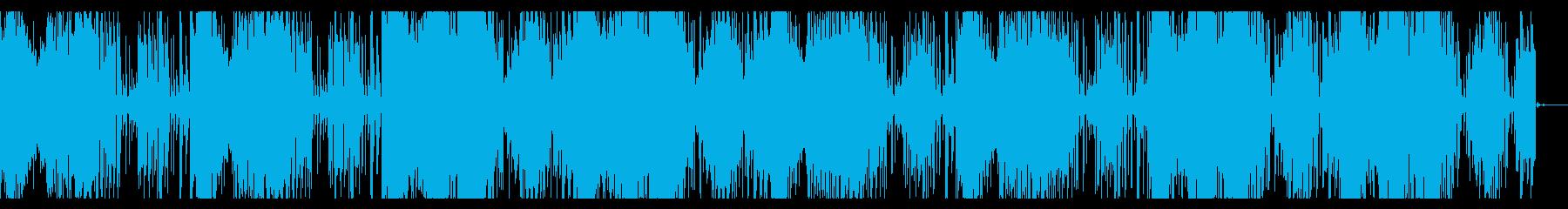 デジタルダークなアンビエントの再生済みの波形