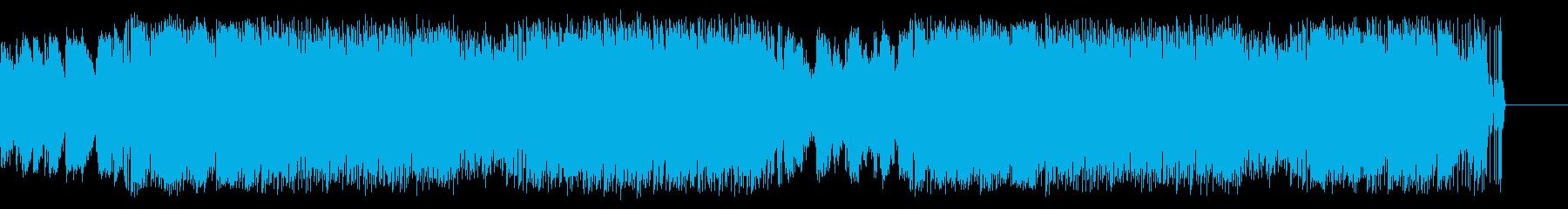 ジャズの要素を含んだ幻想的なアンビエントの再生済みの波形