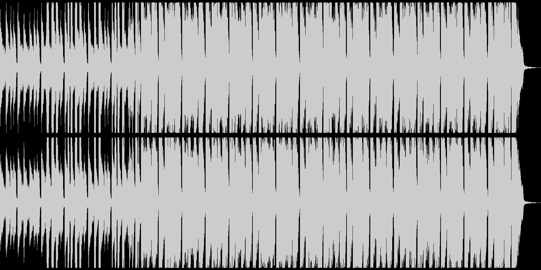 ピアノ、ギター、掛け声のハッピーソング!の未再生の波形