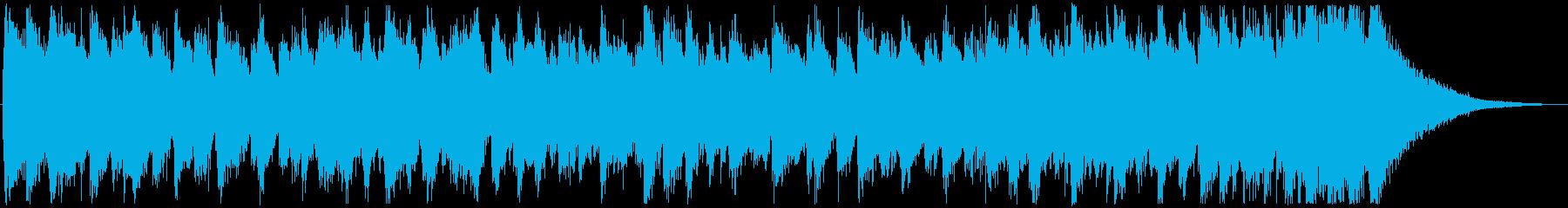 ジングル・楽しいファンクの再生済みの波形
