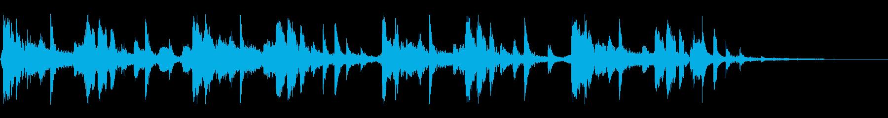 シングル 幻想的でソウルフルなビートの再生済みの波形