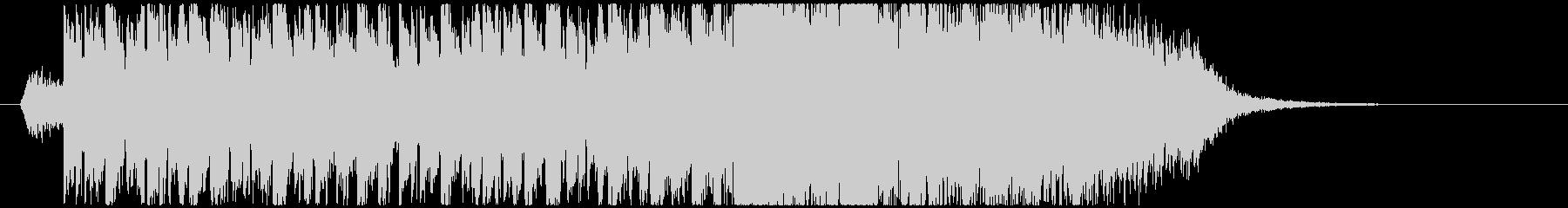 かっこいいドラキュラ的なEDMジングルの未再生の波形