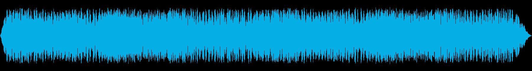 電子テレメトリを備えた巨大なコンピ...の再生済みの波形