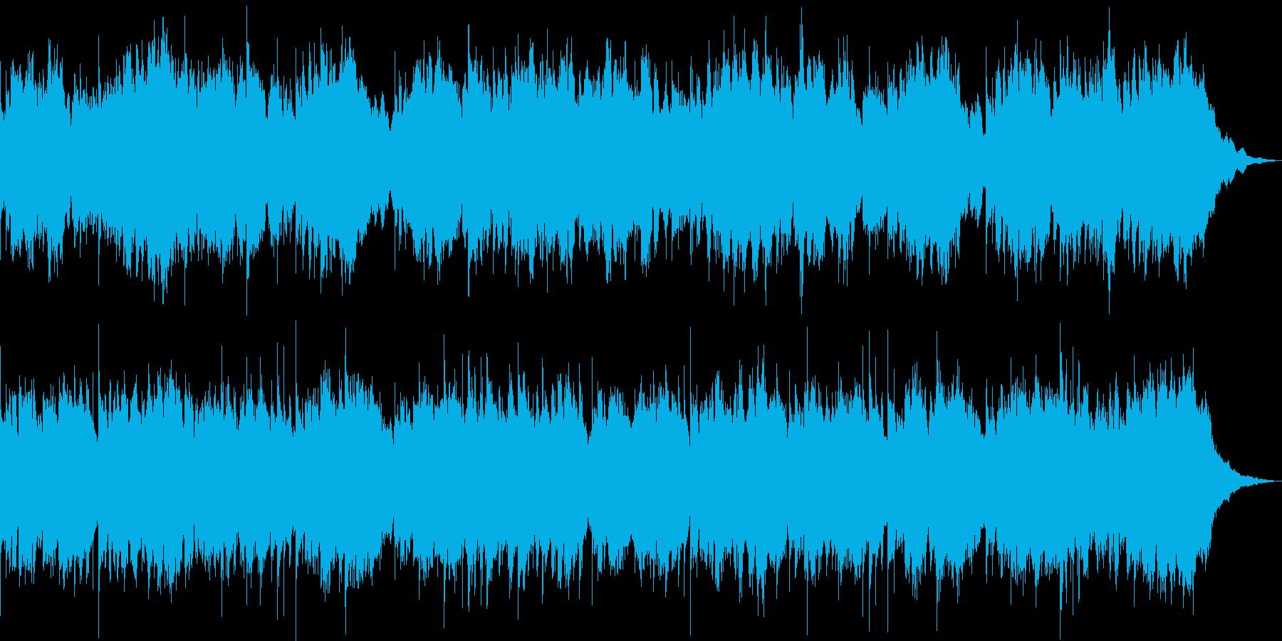日本の風景に合う切ない琴のアンビエントの再生済みの波形