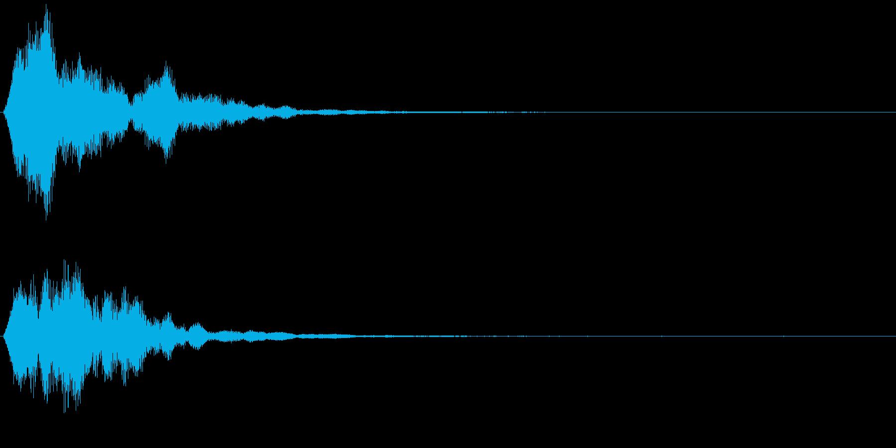 ファーン、シャーン、回復系魔法、シンセの再生済みの波形