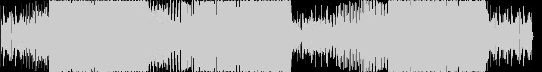 ピアノが印象的なポップスの未再生の波形