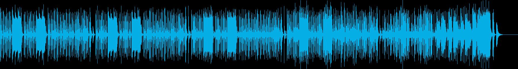かわいくてポップでキャッチーなリコーダーの再生済みの波形