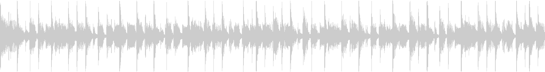 クールなジャズファンクの未再生の波形