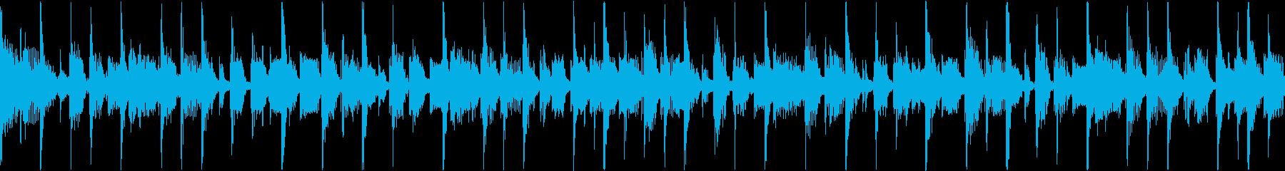 クールなジャズファンクの再生済みの波形