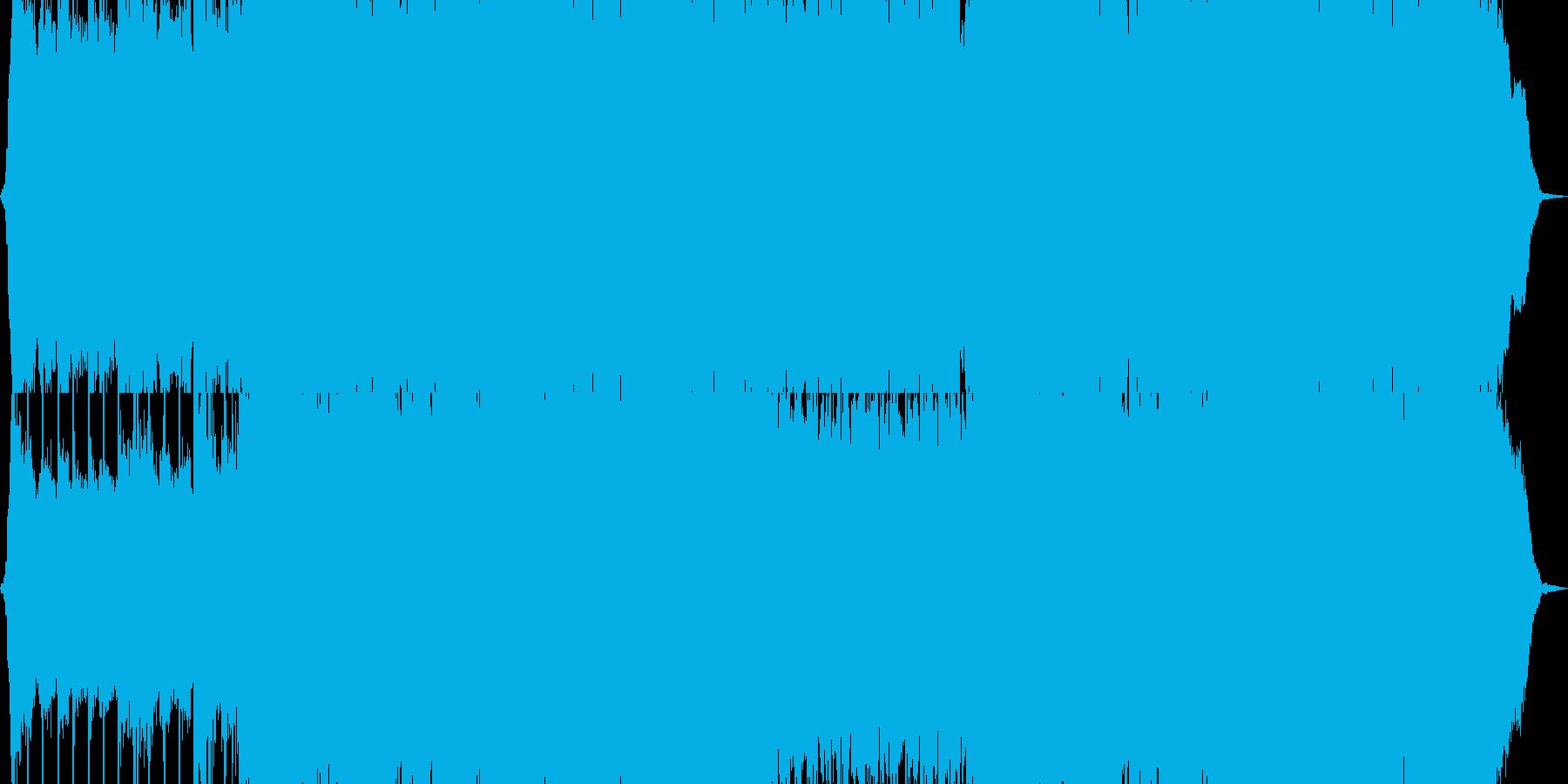 メタル ワイルド 燃える 低音 ア...の再生済みの波形