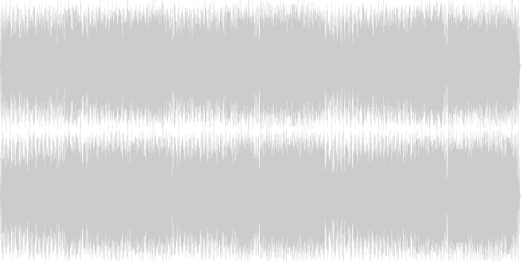 ギターによるにぎやかポップロックの未再生の波形