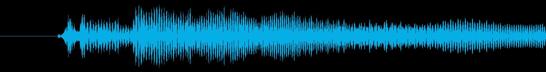 ポワッ(キャンセル音)の再生済みの波形