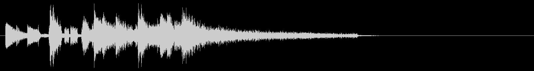 Urban jingle's unreproduced waveform