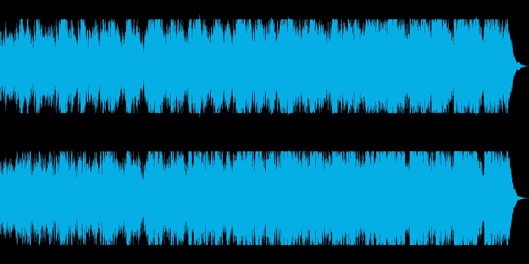 躍動感のあるオーケストラファンタジーの再生済みの波形