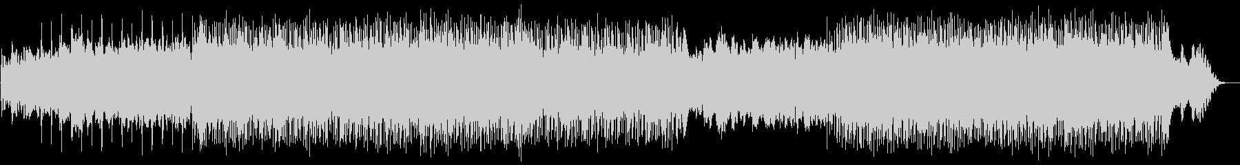 疾走感のあるドラムンベースの未再生の波形