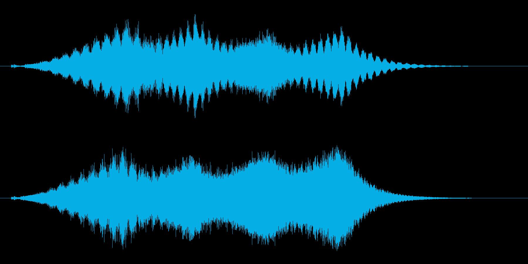 占う 水晶を覗く効果音 タロットカード の再生済みの波形