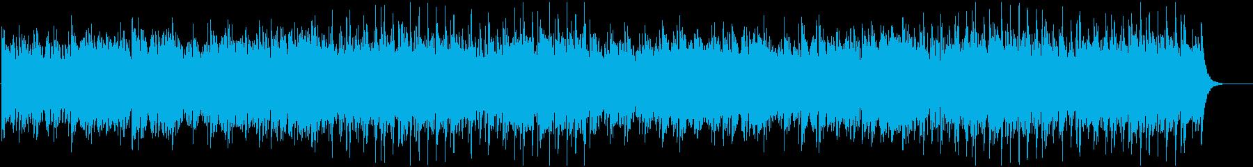 ハートウォーミングなインストゥルメンタルの再生済みの波形