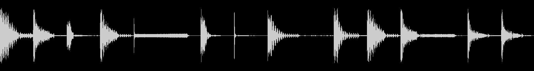 楽器4ビート_少しテクノ(音楽制作用)の未再生の波形