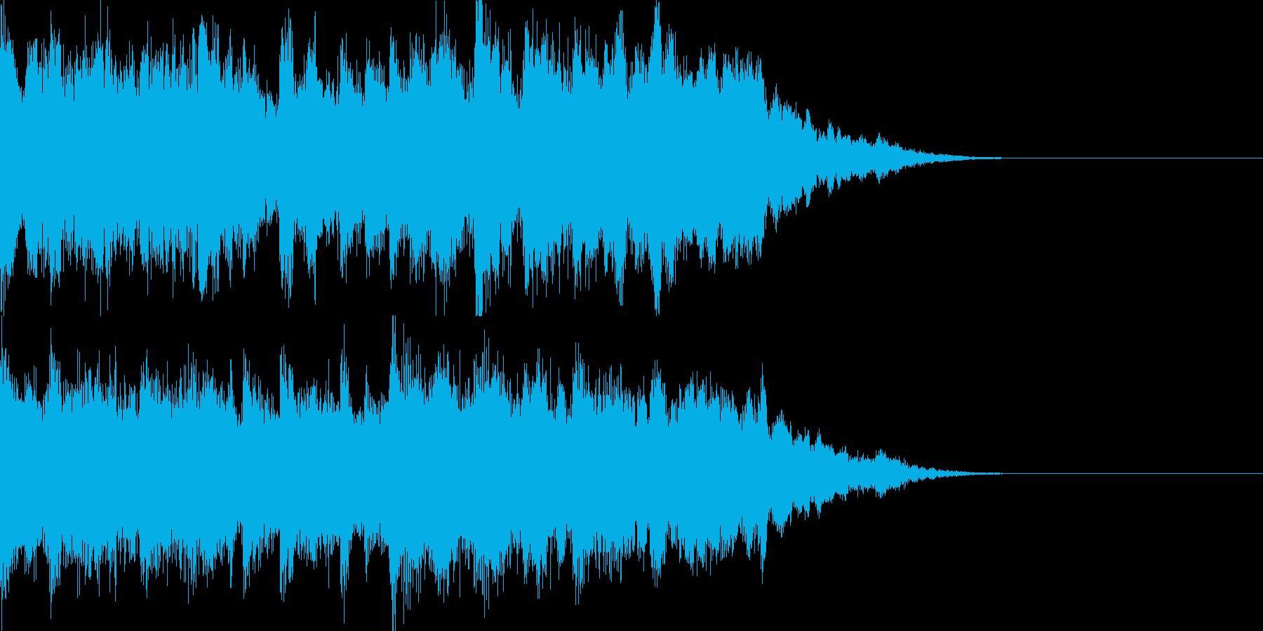 太陽と海の2019年版の再生済みの波形