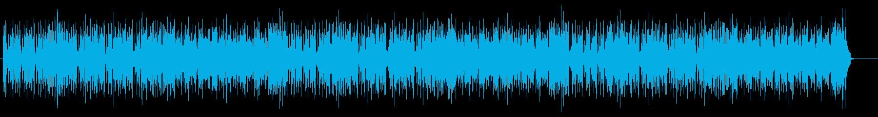 アクションゲームを想定して作りました。の再生済みの波形