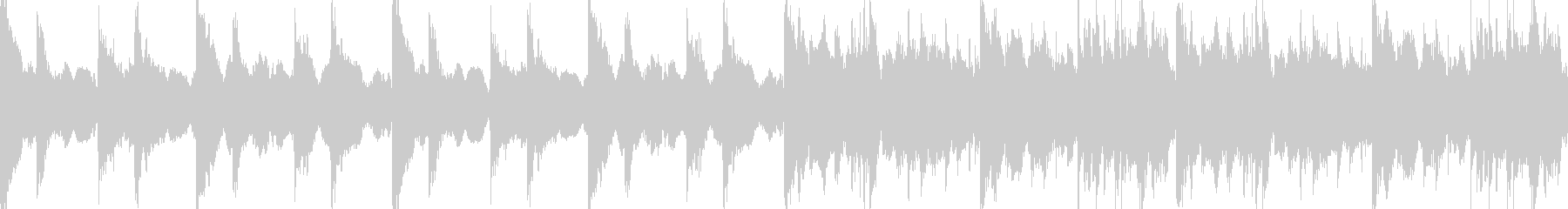 縁、和風のBGM(ループ仕様)の未再生の波形