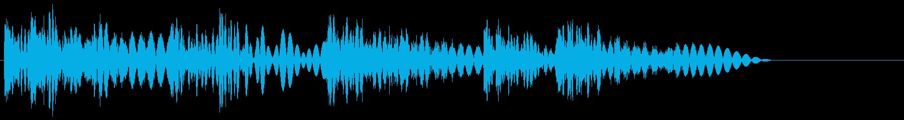 ボコボコッビシバシ(ラッシュ攻撃)の再生済みの波形