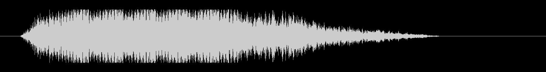 レーザー音-50-3の未再生の波形