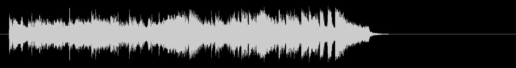 フュージョンバラード(イントロ)の未再生の波形